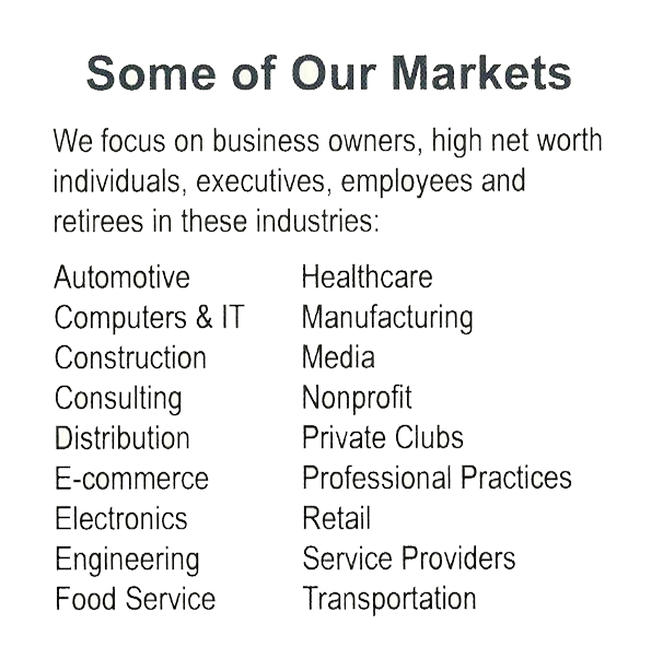 Some of our Markets